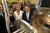 Inauguration de l'Institut international de l'énergie nucléaire à Saclay