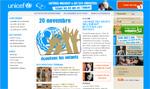 lien vers le site de l'Unicef
